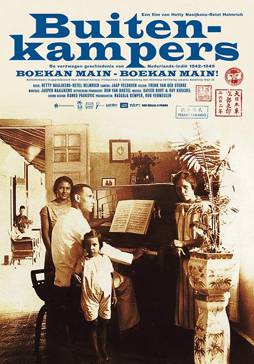 poster van de documentaire Buitenkampers